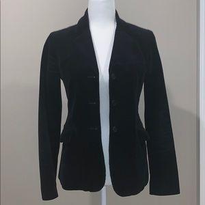THEORY Corduroy Black Blazer  Size Small
